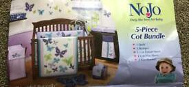 Cot bed bundle set (6 piece) excellent condition