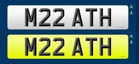 M22 ATH MR ATH ARTHUR PRIVATE CHERISHED PLATE