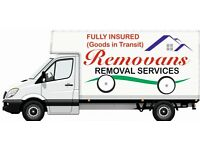 MAN & VAN, HOUSE REMOVALS, HANDYMAN, LOCAL & LONG DISTANCE, LOW COST, SINGLE & MULTIPLE ITEMS £25p/h