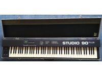 Fatar Studio 90 Plus Midi Master Controller Weighted Keyboard in Flightcase