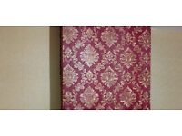 Fitting and covering wallpapers at homes and commercials with highly skilled and professionally