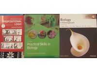 Biology/ biomedicine books for university