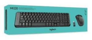 Brand New Logitech Mk220 Wireless Keyboard and Mouse Combo