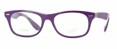 NEW RAY BAN LITEFORCE VIOLET PURPLE AUTHENTIC EYEGLASSES RB 7032 5437 50-17 (Ray Ban Purple Glasses)