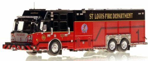 ST. LOUIS FIRE DEPT SVI/SPARTAN RESCUE 1 1/50 Fire Replicas FR004-1 New