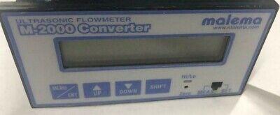 Malema Ultrasonic Flowmeter M-2000 Converter
