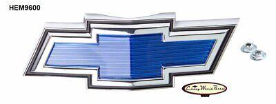 69 - 70 CHEVROLET CHEVY C/K TRUCK PICKUP BLUE BOWTIE HOOD EMBLEM