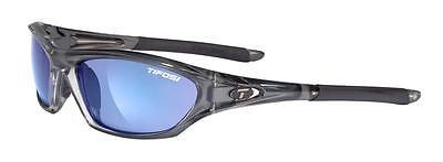 NEW Tifosi Core Crystal Smoke Sunglasses Smoke Blue Lens 0200402877
