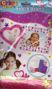 Make Your Own Photo Frame Craft Pack - Ideal Fun For Kids