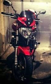 Yamaha Fazer FZ6N 600cc Motorbike