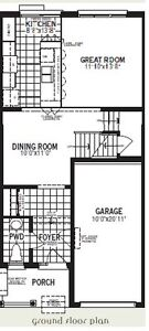 April 1st Brand New 3 Bedroom Townhouse - Kitchener South Kitchener / Waterloo Kitchener Area image 2