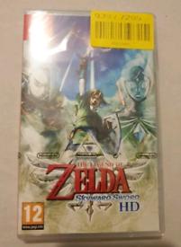 The Legend of Zelda Skywards Sword for Nintendo switch