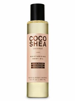 Cocoa Butter Moisturizing Body Oil (BATH & BODY WORKS COCO SHEA COCONUT MOISTURIZING BODY OIL 6.3OZ BUTTER COCOA)