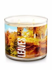 "WANTED: Bath and Body Works ""Leaves"" 3 wick candle"