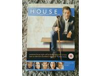 HOUSE DVD BOX SET, SEASON 1, DVD'S 1-6