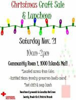 Annual Red Cross Christmas Craft Sale & Luncheon