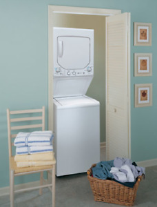 GE Apartment Large Capacity Washer/Dryer Unit