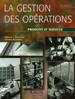 La gestion des opérations - Produits et services