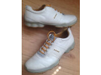 Mens ECCO Leather Waterproof BIOM YAK Golf Shoes EU43 / UK 9 MUST SEE