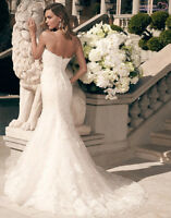 New Casablanca wedding dress