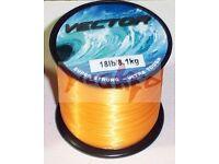 Bulk spool of sea fishing line 18lb