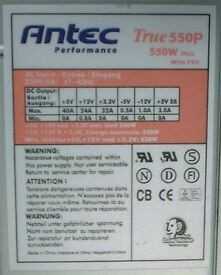 ANTEC 550Watt PSU TRUE 550P EPS 12V PC POWER SUPPLY