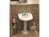 Heritage sink - traditional taps - in perfect condition have just redone bathroom