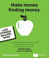 Learn to earn at H&R Block Tax Academy™