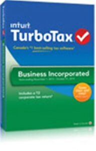 TurboTax Business T2 software