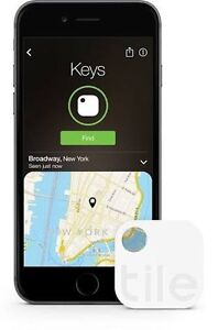 4x Tile MATE GPS 2nd Gen Bluetooth Tracking For iPhone & android Brisbane City Brisbane North West Preview