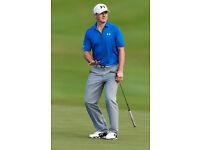 BNWT New Grey H&M Trousers Golf 38R & 30R