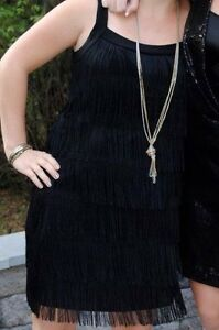 WHITE HOUSE BLACK MARKET FLAPPER DRESS - Worn Only Twice