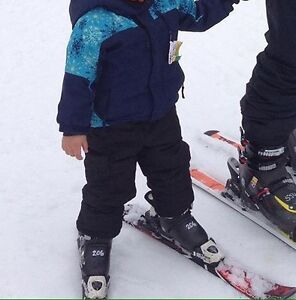 3 years old snow pant and jacket