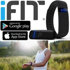 REFURB IFIT LINK FITNESS TRACKER - 110946484 - Fitness Activity Tracker Wearable EXERCISE BLACK