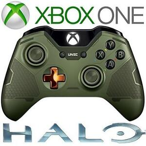 REFURB XBOX ONE WIRELESS CONTROLLER - 114252281 - VIDEO GAMES SPECIAL EDITION HALO 5 MASTER CHIEF