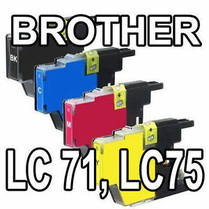 New Compatible Brother Set of Inks and Toners