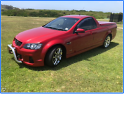 HOLDEN 2011 SS-V REDLINE VE UTE Dee Why Manly Area Preview