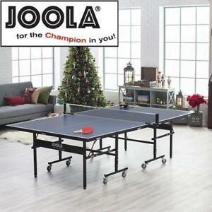 NEW JOOLA TABLE TENNIS TABLE 11560 213182102 TOUR 1500 LEISURE SPORTS GAME ROOM PING PONG TABLE TENNIS PADDLE SPORT P...