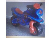 Spider-Man motor bike brand new