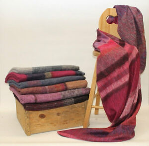 Alpaca and Wool Blanket  From 109.00