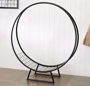 Looking for hoop firewood log holders