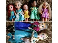 Disney princess toddler dolls and frozen plush toys includes 1 animation doll