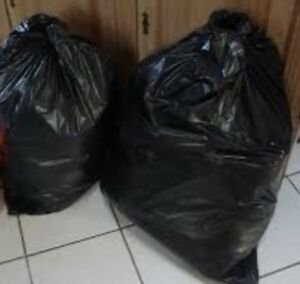 TWO Garbage Bags of XS-S Women's