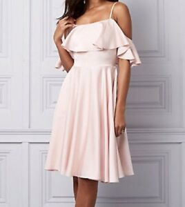 Robe rose pâle / Pink Blush Dress (Taille P / Size Small)