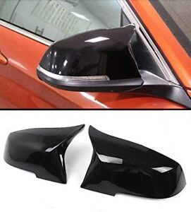 2012-2016 BMW F30 Side Mirror Caps/Covers Glossy Black