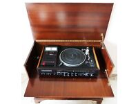Rotel RM-5010 Stereo Music Centre & Solid Wood Music Cabinet (Vintage Retro HiFi)