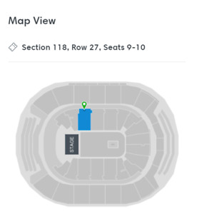 2 Arctic Monkeys Tickets for Sale - August 5th @ ACC