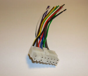 power acoustik dvd wire harness ptid 5800 4007 4004 ebay