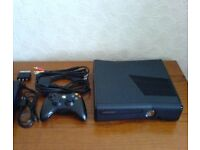Xbox 360 slim all cables and a few games