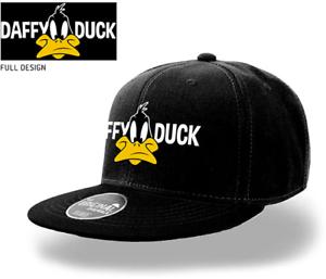 Adult Looney Tunes Daffy Duck Snapback Baseball Cap Hat Cartoon ... 33f8a77de60
